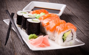 Picture food, dish, sushi