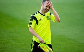 Picture Sport, Football, Spain, Football, Spain, Sport, Player, FC Barcelona, Andres Iniesta, Training, NIKE, FC Barcelona. …
