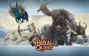 Wallpaper Orc, wolf, Archer, Katauri Interactive, Royal Quest