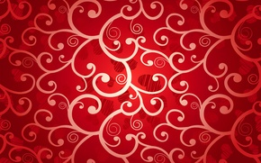 Picture red, background, hearts, hearts, valentine, romantic, love, background