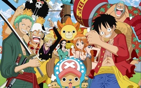Picture game, Chopper, One Piece, anime, katana, Robin, asian, shooter, manga, japanese, oriental, asiatic, Roronoa Zoro, ...