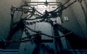 Wallpaper room, the game, chain, Silent Hill 4, the door, 2004, The Room
