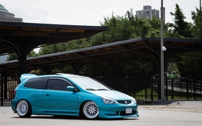Picture wheels, honda, japan, jdm, tuning, jazz, low, stance, fit