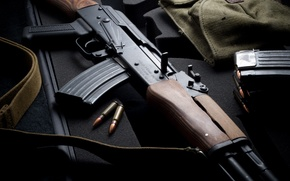 Wallpaper weapons, Kalashnikov, Chinese AK 47, machine