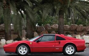 Picture red, Ferrari, Ferrari, supercar, red, 328 GTS