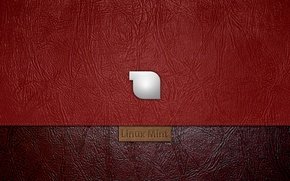 Picture computer, text, leather, linux, operating system, label