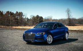 Picture blue, Audi, Audi, blue, 2015, 2.0T