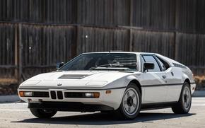 Picture BMW, white, supercar, sportcar