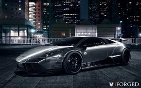 Picture Lamborghini, Murcielago, Widebody, Liberty, Walk, iForged