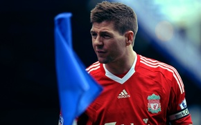 Picture football, gerrard, soccer, liverpool, anfield, epl