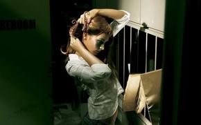 Wallpaper girl, mood