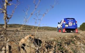 Picture Blue, Toyota, Rally, Dakar, Toyota