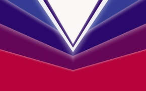 Picture Android, Red, Purple, Design, 5.0, Line, White, Lollipop, Abstraction, Material, Angles