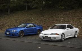Picture nissan, turbo, skyline, japan, jdm, tuning, gtr, power, r34, r32, nismo