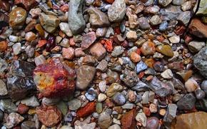 Wallpaper colors, wet, texture, stones, minerals