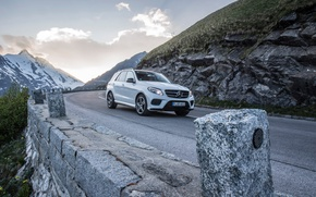Picture white, coupe, Mercedes-Benz, Mercedes, AMG, Coupe, 4MATIC, 2015, C292, GLE 450