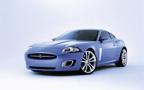 Wallpaper white background, Coupe, Jaguar, Advanced, Jaguar, coupe