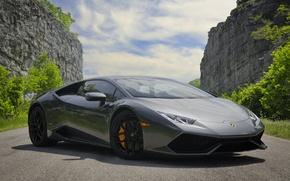 Picture Lamborghini, Gray, LP 610-4, Huracan