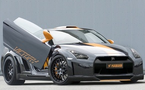 Picture r35, nissan gt-r, hamann victory