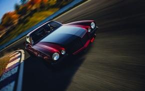 Picture car, machine, speed, red, camaro, chevrolet, speed, motorsport, camaro rs