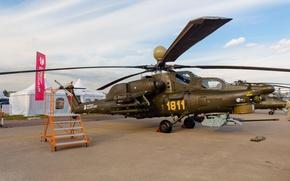 Picture BBC, Russia, Helicopter, Shock, Mi-28, MAX, 2015, MAKS, Night Hunter