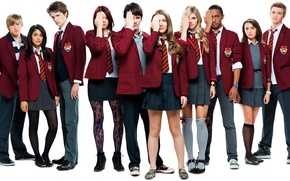 Picture students, Abode Of Anubis, House of Anubis