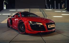 Picture car, machine, Audi, Shine, tuning, the front, Prior-Design, GT650