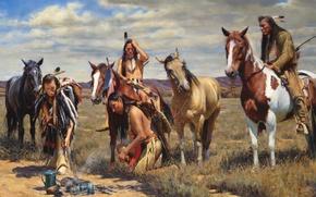 Picture the Indians, John Fawcett, Warm Coals