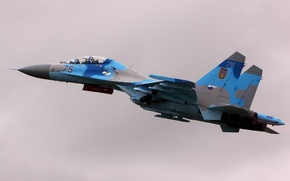 Picture weapons, the plane, SU27