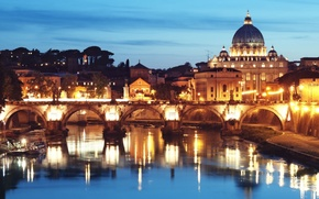 Picture Light, Rome, Brideg