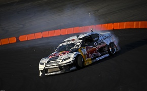 Picture Mazda, Drift, Tuning, Team, RX-8, Competition, Wheels, Widebody, Sportcar, Spoiler, Red-Bull Racing