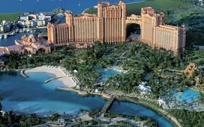 Picture the hotel, water Park, Bahamas, Bahamas, Nassau, Paradise island, Water Park