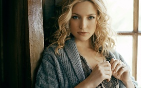 Picture look, face, model, actress, blonde, Kate Hudson