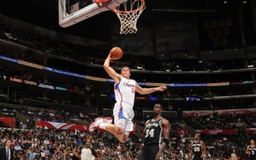 Picture basketball, NBA, dunk, Blake Giffin