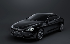 Wallpaper bmw, concept, coupe, gran