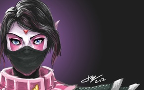 Picture girl, Defense of the Ancients, Dota 2, Lana, The Templar Assassin