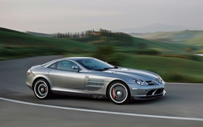 Picture landscape, coupe, concept, Tuscany, Mercedes-Benz