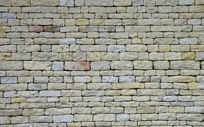 Picture wall, paint, stone, masonry