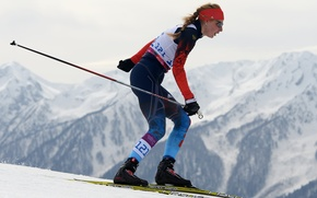 Picture biathlon, Sochi 2014, champion, Paralympic games, to overcome yourself, Alena Kaufman