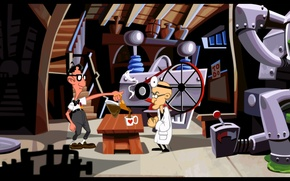 Picture lab, remastered, Day of the Tentacle, decaffeinated coffee