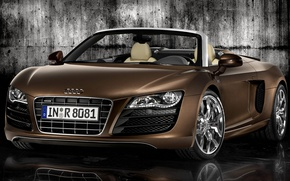 Picture Audi, convertible, R8, roadst