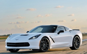 Picture Corvette, Chevrolet, Stingray, HPE500 by Hennessey