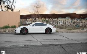 Picture graffiti, 911, Porsche, side, ZS05, Vibe, Zito