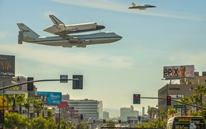 Picture CA, Shuttle, NASA, Los Angeles, Los Angeles, California, shuttle, Endeavour