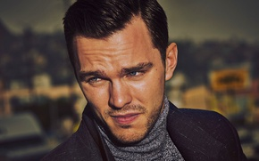 Picture portrait, Guy Aroch, Nicholas Hoult, photographer, actor, Nicholas Hoult