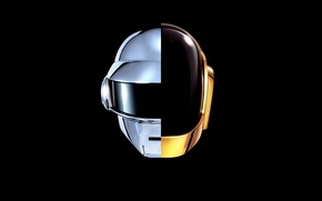 Picture music, daft punk, new, helmets, french