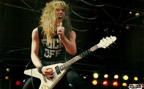 Picture scene, guitar, concert, metal, gesture, metallica, electric guitar, thrash, james hetfield