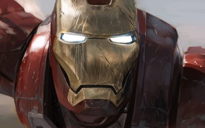 Wallpaper iron man, iron man, costume, Avengers, metal, The Avengers