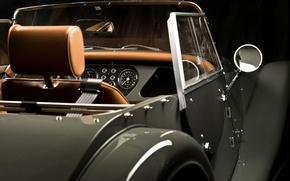 Picture retro, mirror, convertible, Morgan