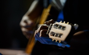 Picture hands, music, guitar